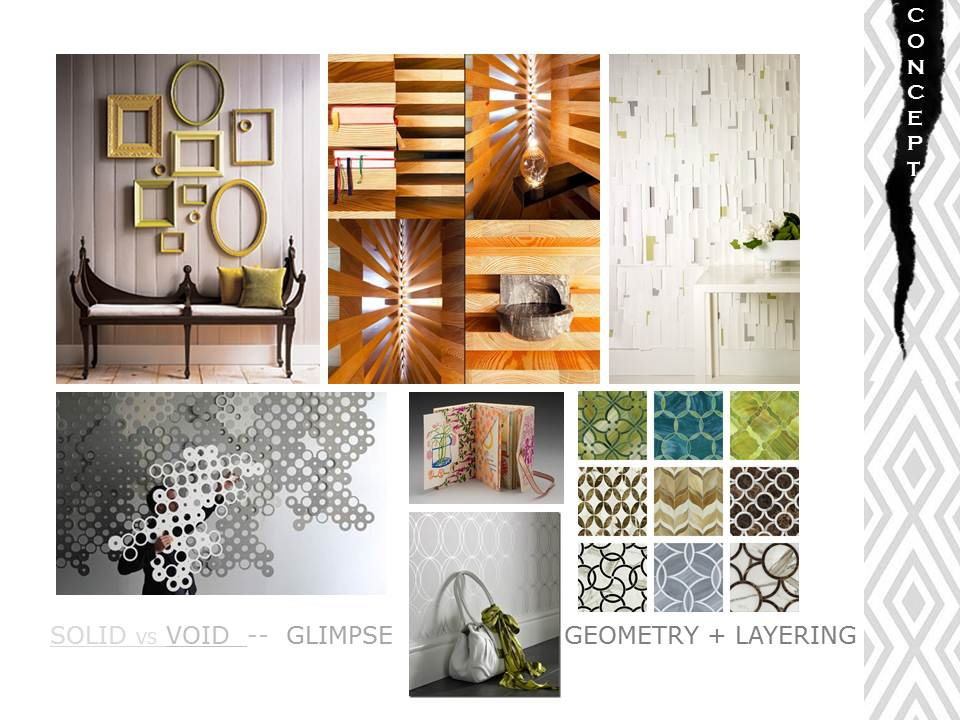 GLIMPSES INTRODUCTION TO THE INTERIOR DESIGN PROCESS