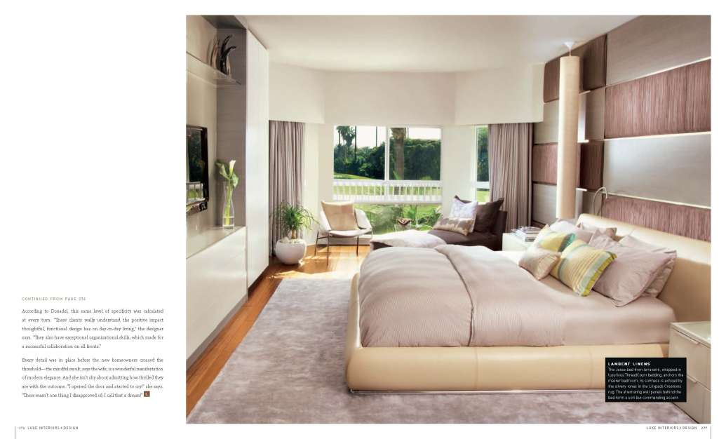 Luxe magazine south florida edition picks dkor interiors for Luxe furniture and design