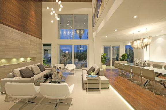 DKOR Interiors Living Room Design