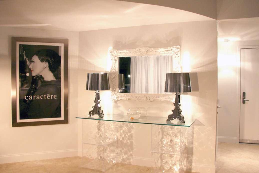 Ceiling Light Fixture In A Modern Interior Design Project   DKOR Interiors,  South Beach,