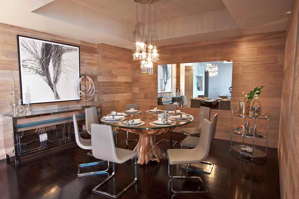 Fascinating Dining Room Furniture Miami Contemporary - 3D house ...