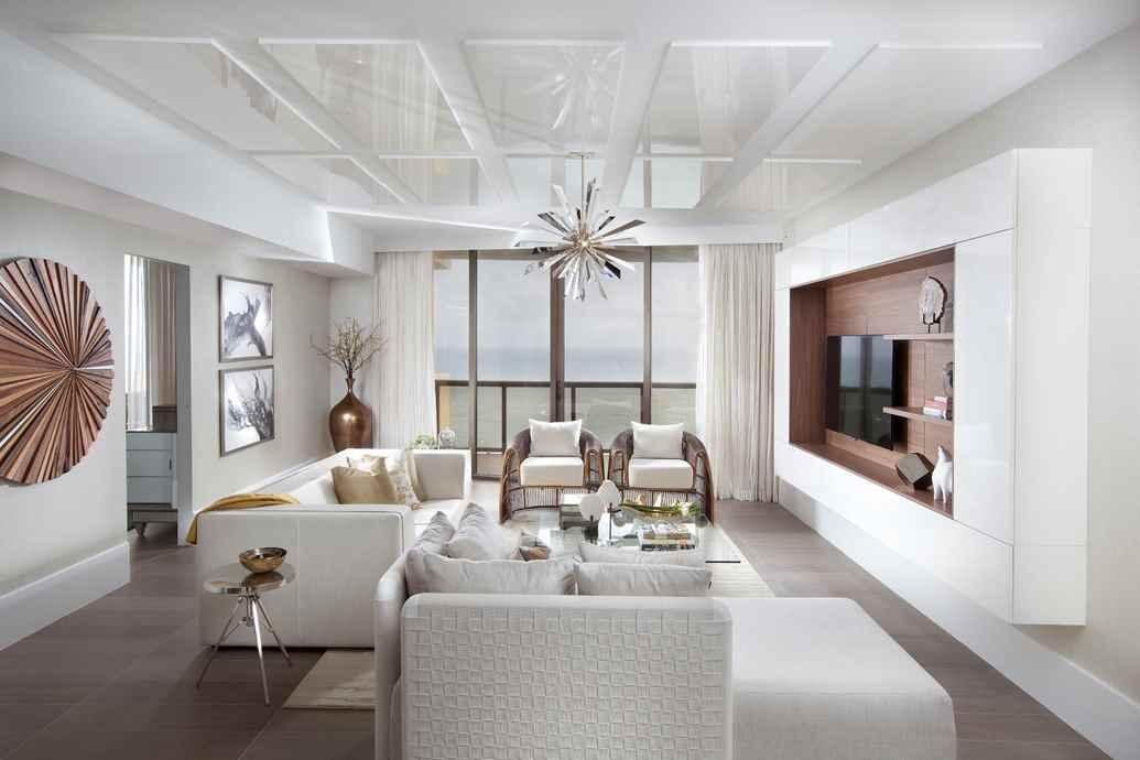 designer lighting inspires our miami interiors - residential