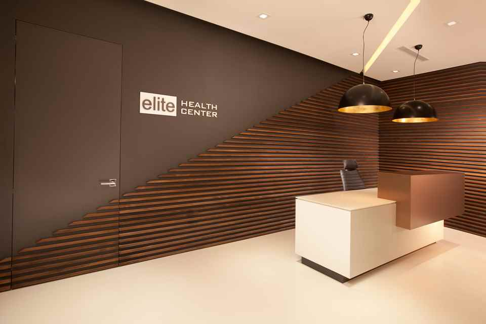 Concept presentation leading edge scandinavian for Medical office interior design