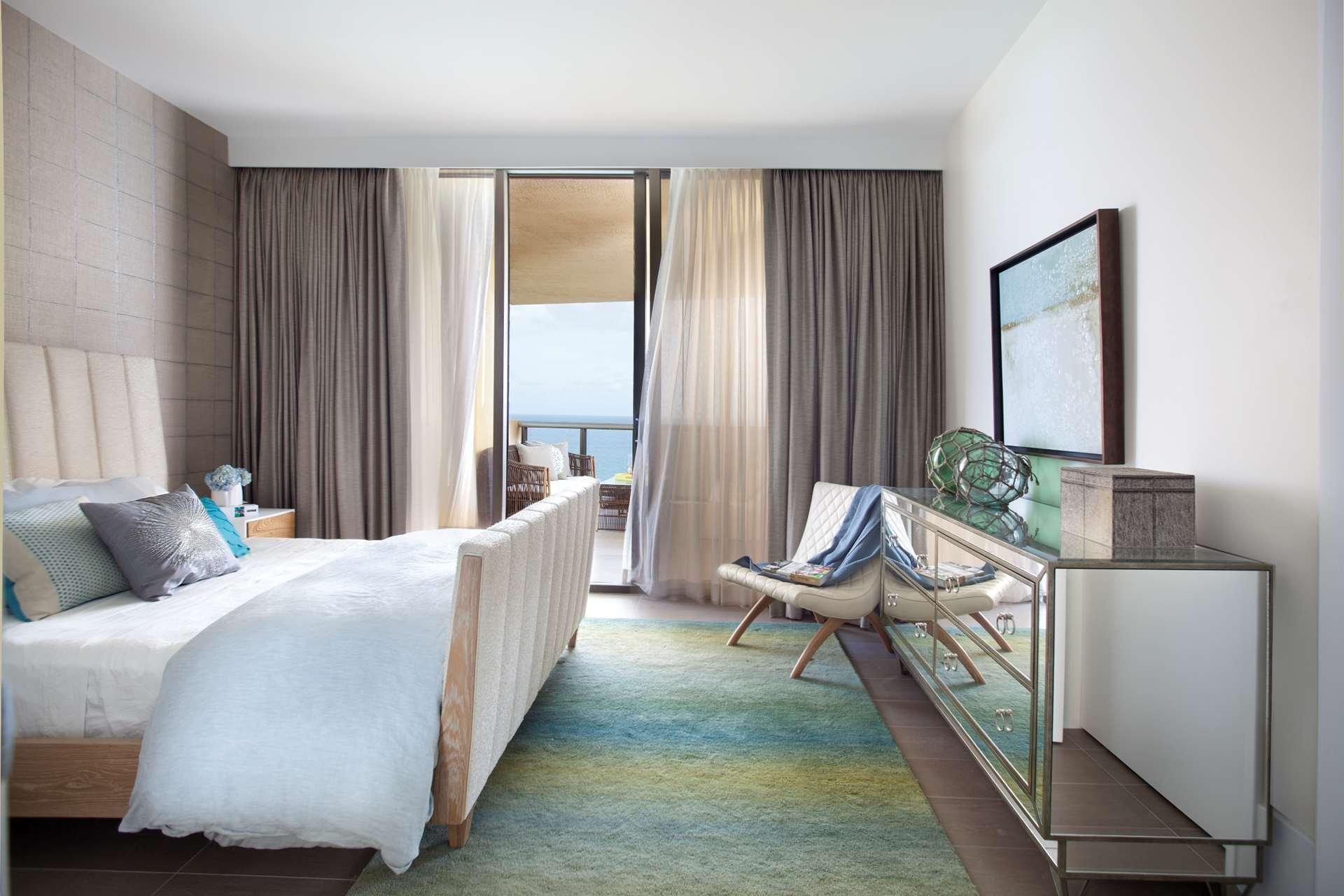 Miami Interior Design Guest Bedroom