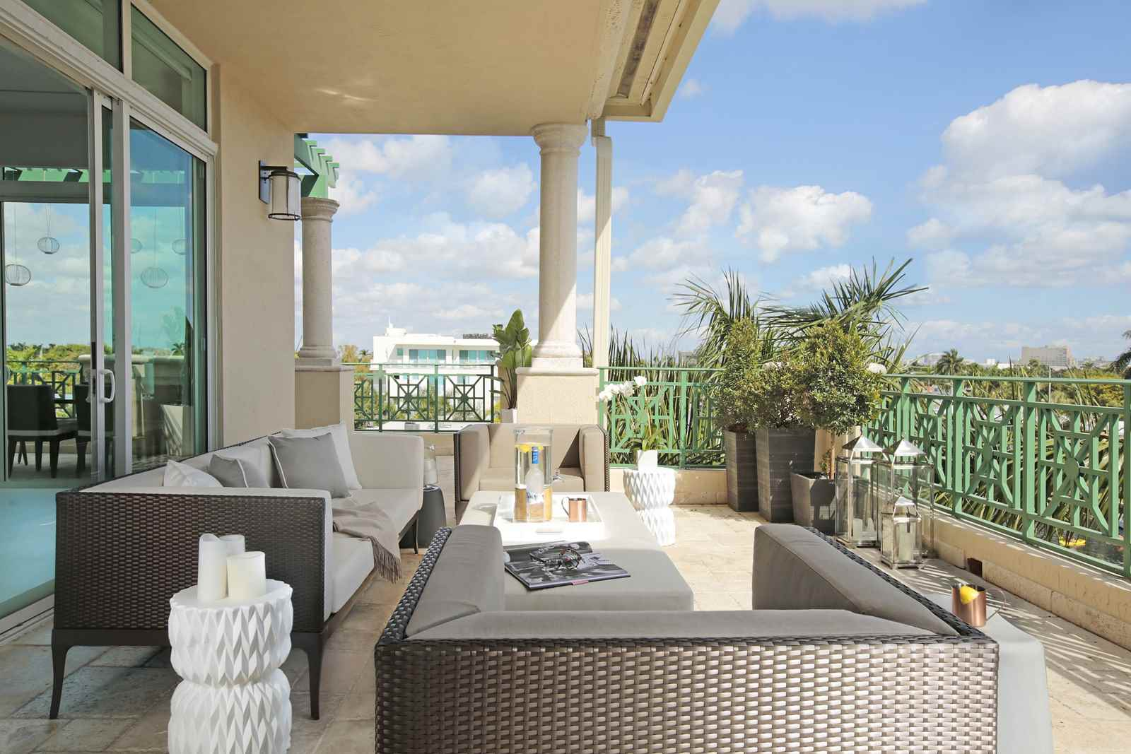 Waterfront penthouse residential interior design from Interior designers in fort lauderdale