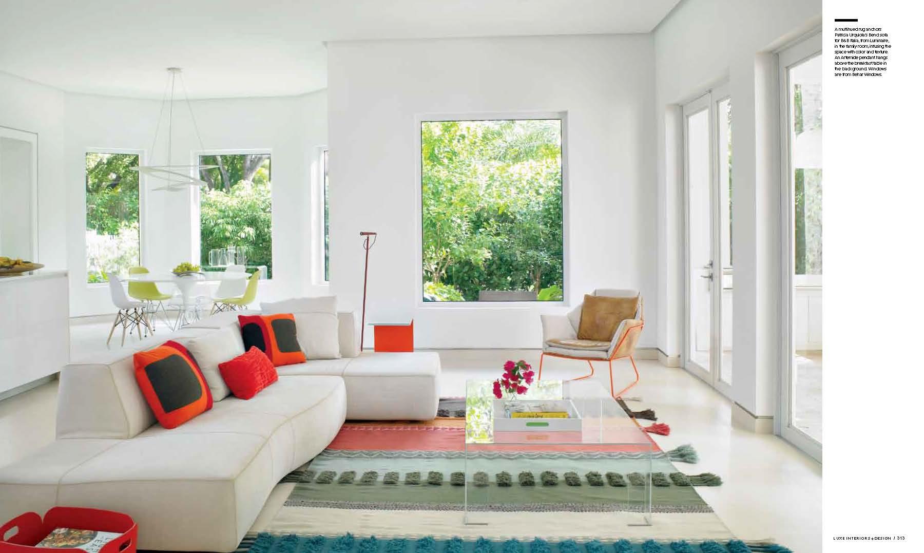 Luxe magazine features dkor 2015 interior design press for Luxe interieur design