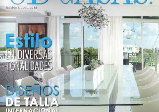 DKOR Interiors Takes Cover Page In South American Interior Design Magazine – Ocean Drive CASAS