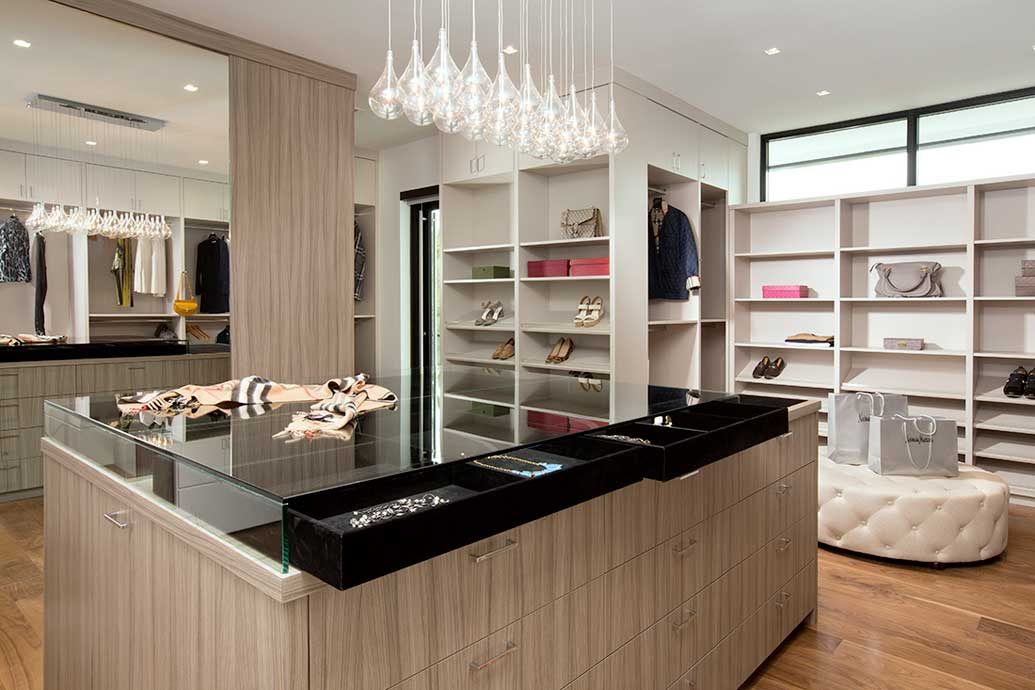 NeimanMarcus7 Clients Custom Closet With A Wardrobe From Neiman Marcus Fort Lauderdale Miami Interior Designers
