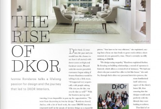 Florida Interior Design Firm Featured On 9FI5TH Luxury Real Estate Publication
