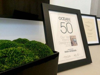 DKOR Interiors Is One Of The Top 50 Interior Designers By Ocean Home Magazine
