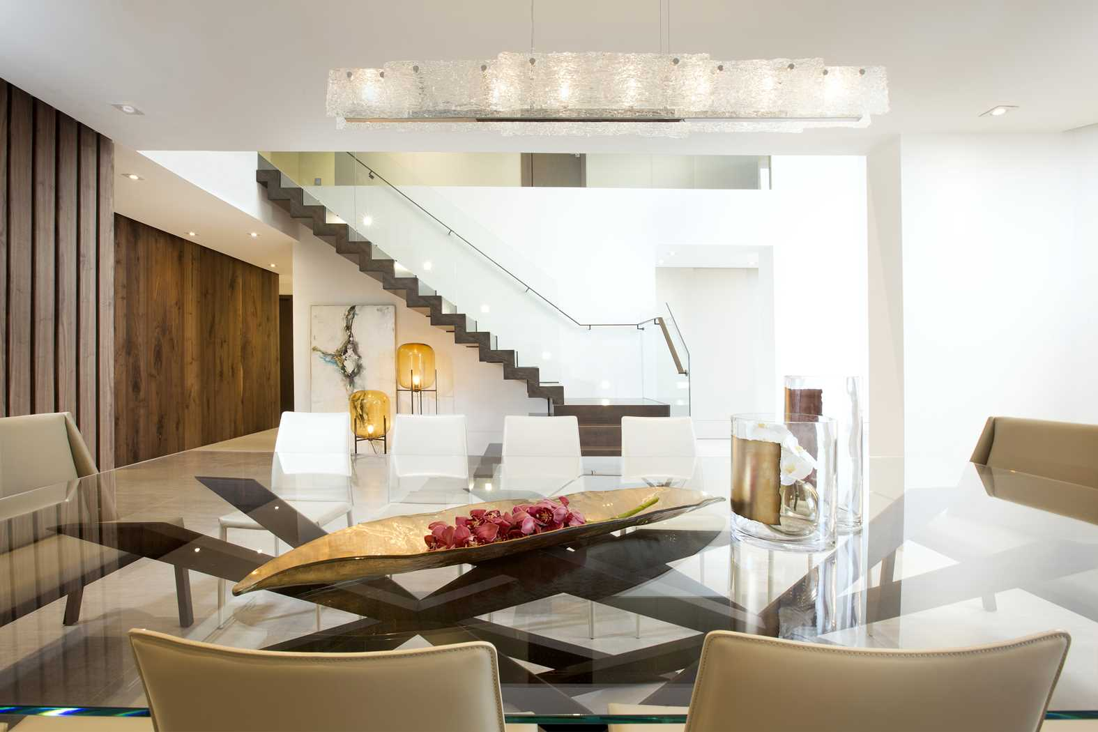 Contemporary twilight residential interior design from - What is contemporary design ...