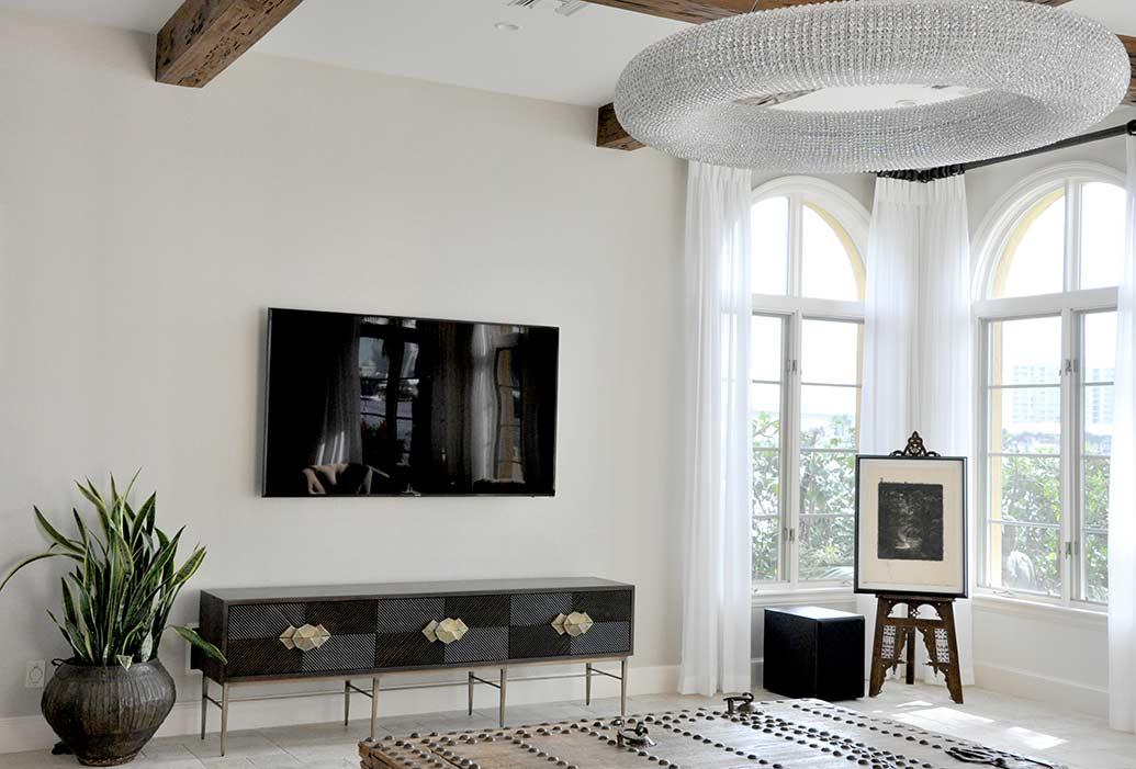 luxury home renovation harbor beach interior design. Black Bedroom Furniture Sets. Home Design Ideas