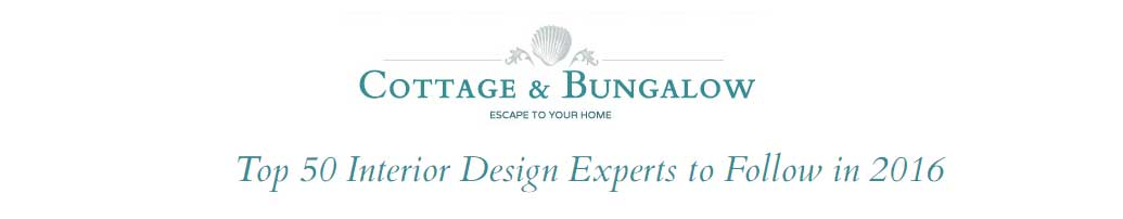 COTTAGE BUNGALOW Names DKOR Top Interior Design Experts