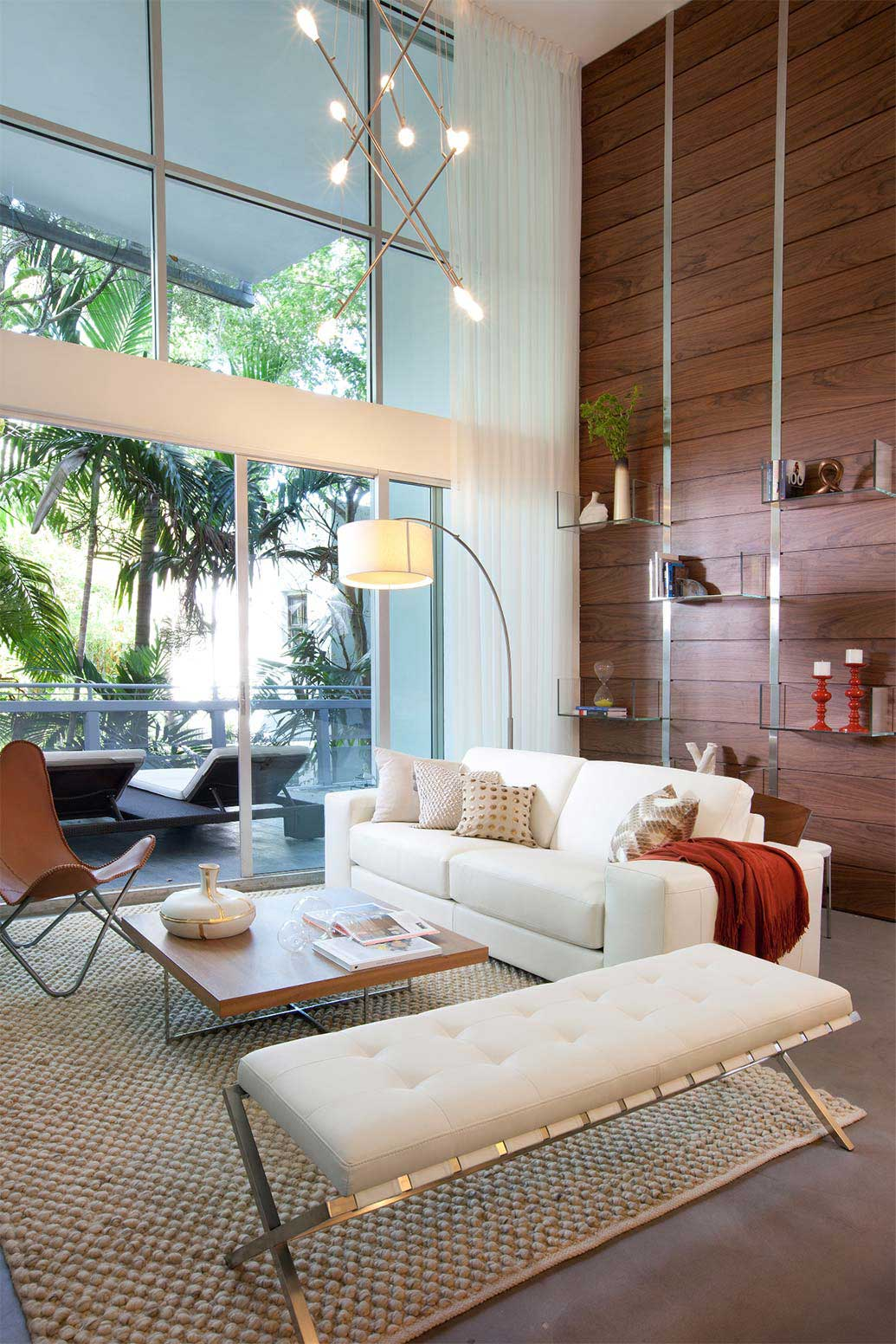 Shop the look south beach chic residential interior for Beach interiors