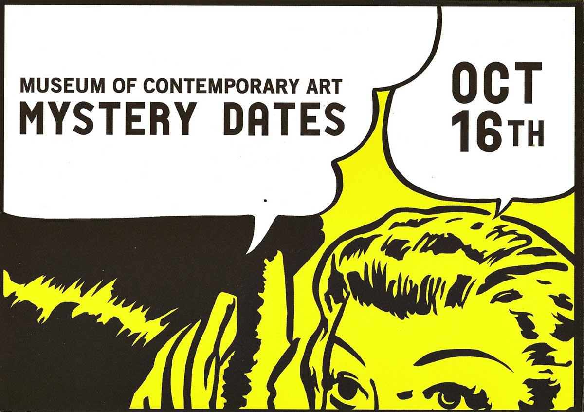 MOCA MYSTERY DATES: It's Finally Here! 13