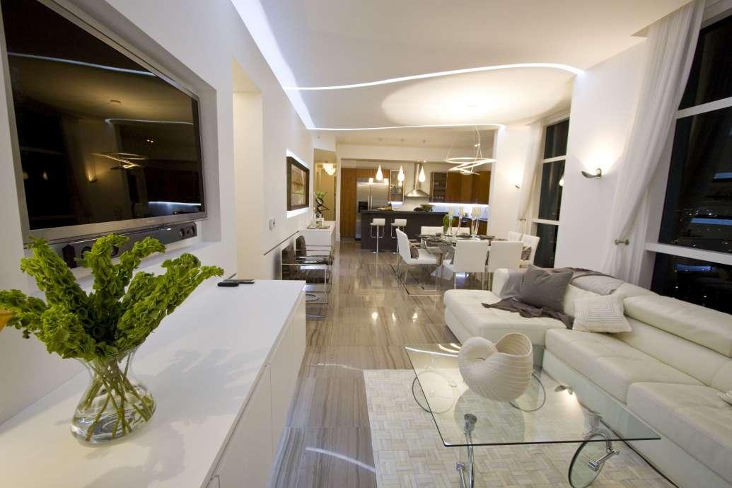 Miami Interior Design HALLANDALE BEACH PENTHOUSE