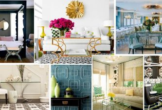 HOLLYWOOD REGENCY IN MIAMI : FURNITURE &  ACCESSORIES - Turnberry Ocean Colony, Sunny Isles, FL 4