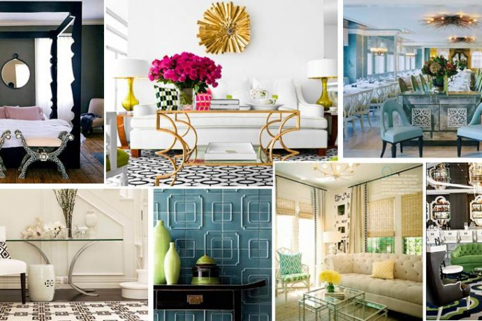 HOLLYWOOD REGENCY IN MIAMI : FURNITURE &  ACCESSORIES – Turnberry Ocean Colony, Sunny Isles, FL