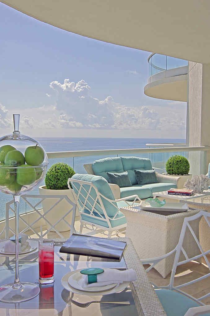 Hollywood Regency Balcony
