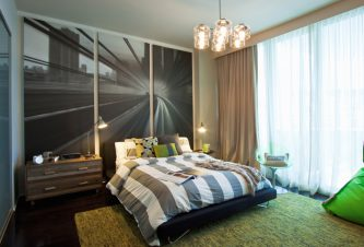 INTERIOR DESIGN: DESIGN IMAGES INTO WALL PANELS - The Bath Club, Miami Beach, FL 1