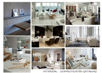 SOPHISTICATED GETAWAY: FURNITURE SELECTIONS – The Sayan Condominium, Sunny Isles, FL 32
