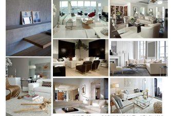SOPHISTICATED GETAWAY: FURNITURE SELECTIONS – The Sayan Condominium, Sunny Isles, FL 32
