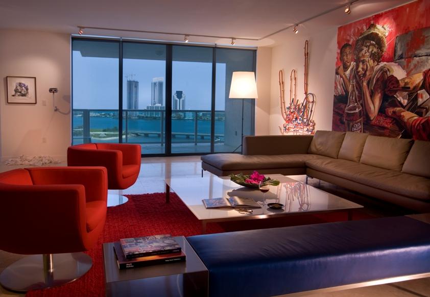 Interior Design in The Peninsula, Aventura FL Condominium