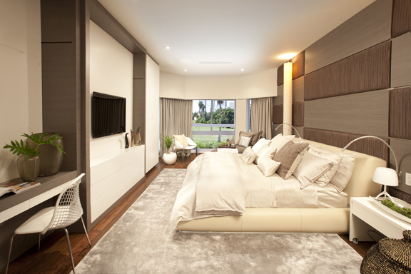 Bedroom interior design in miami florida