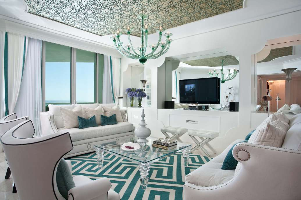 Spotlight on Miami Living Spaces - DKOR Interiors