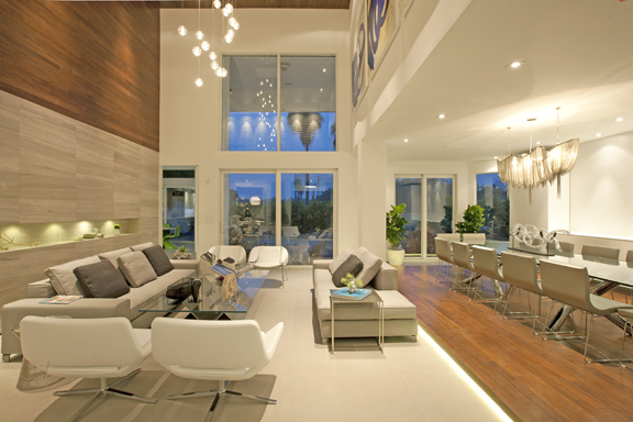 DKOR Interiors Living Room Design