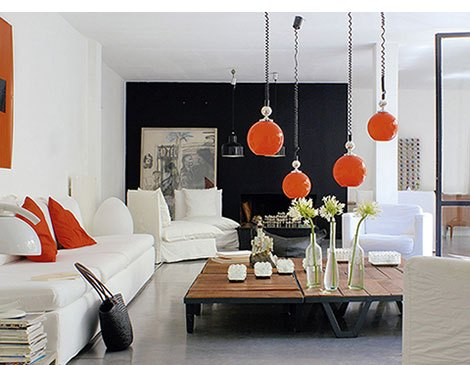 Fall Inspired Modern Interior Design