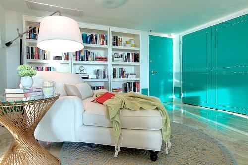 Floor Lamp in a Modern Interior Design Project - DKOR Interiors, Miami, FL