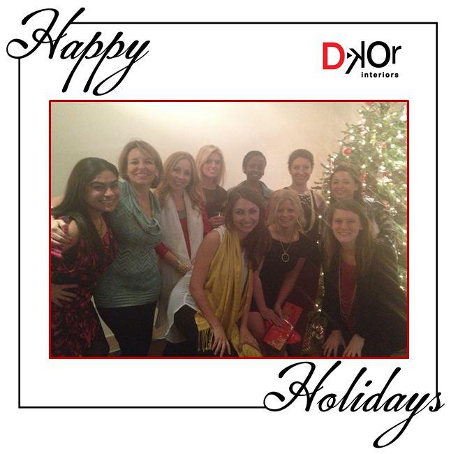 Happy Holidays from Miami Interior Designers, DKOR Interiors