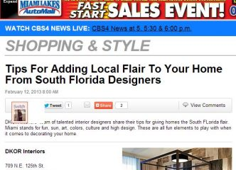 We're Featured On CBS Miami! 2