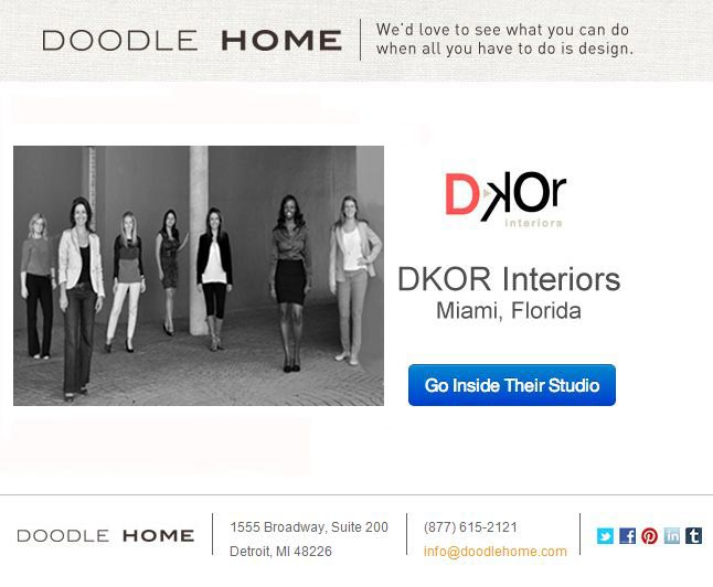 We're featured on Doodle Home