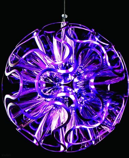 LED Suspension Light Coral