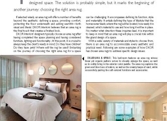 DKOR FEATURED IN FLOOR FOCUS MAGAZINE 1