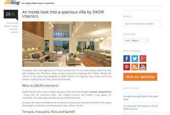 Dutch Blog Features DKOR