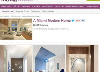 Miami Modern Home: Shop The Look! 1