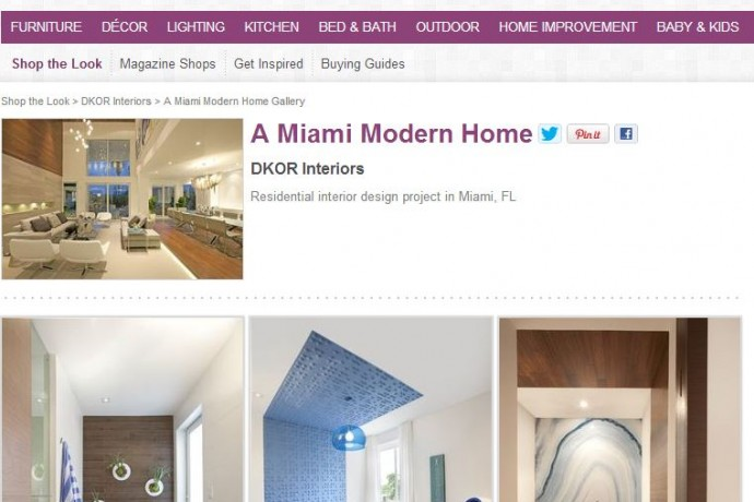 Miami Modern Home: Shop The Look!