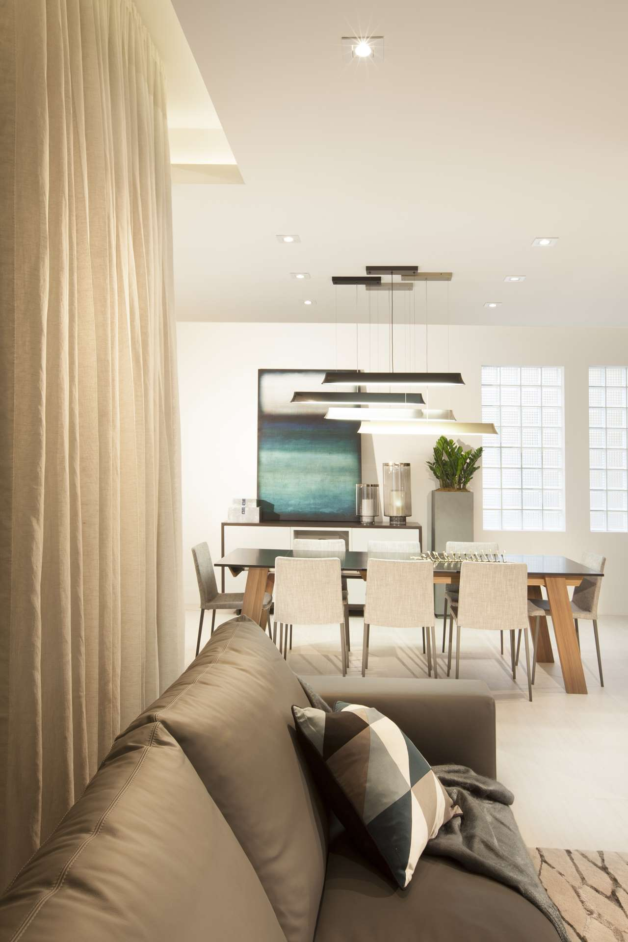 A Contemporary Moody Home Dkor Interiors