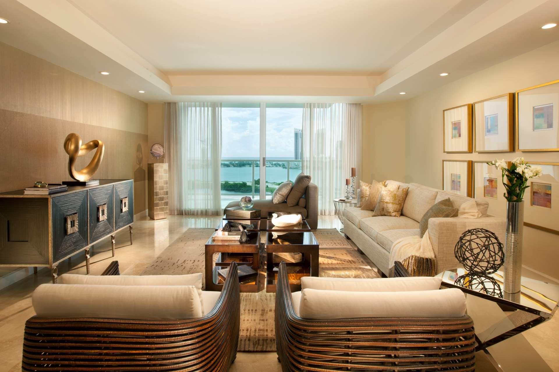 Miami Interior Design Living Room