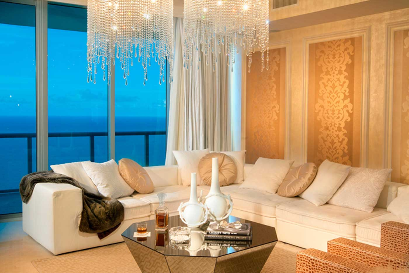 Penthouse Design - Interior Design Project in Sunny Isles, Florida