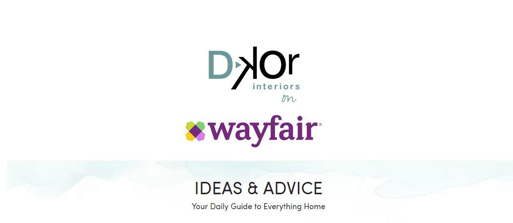 Interior Design Press: Featured on Wayfair.com