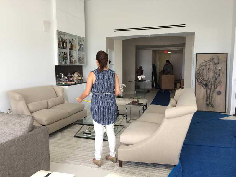 BEHIND-THE-SCENES: A Contemporary Fort Lauderdale Penthouse Turnover