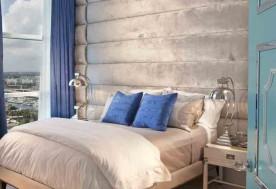 Bedroom Headboard For HOLLYWOOD REGENCY, Turnberry Ocean Colony - FL