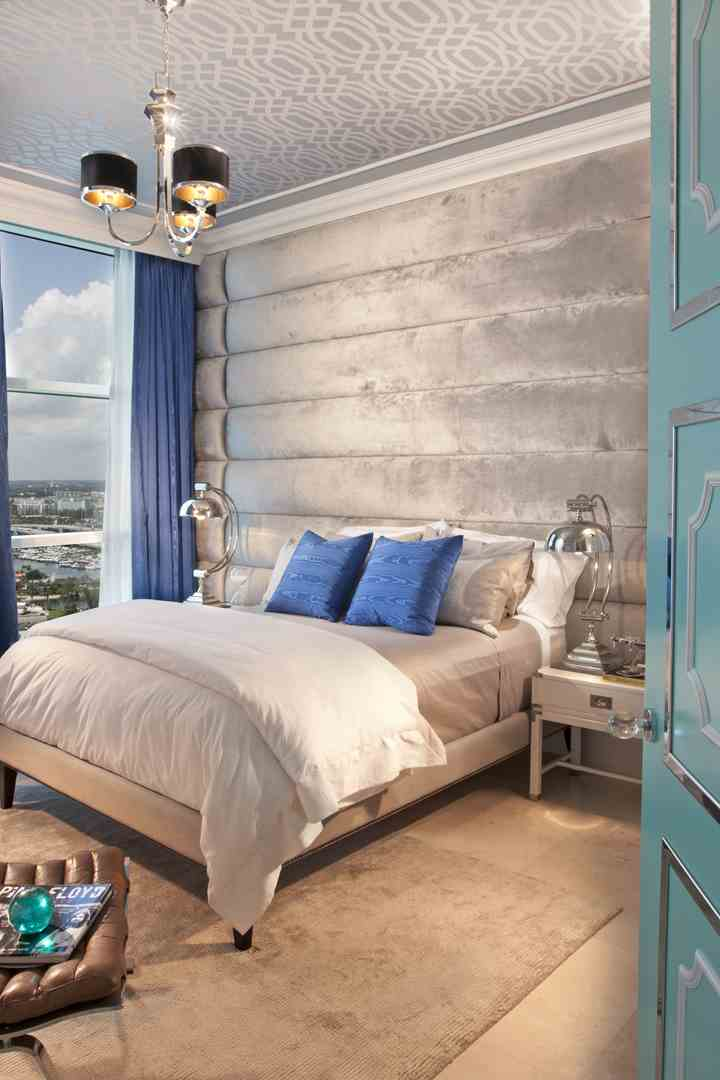 Bedroom Headboard For HOLLYWOOD REGENCY, Turnberry Ocean Colony   FL