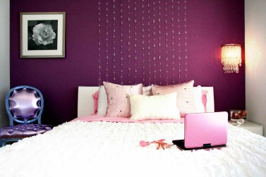 Houzz.com Features DKOR Interiors - Stylish Ways To Accent A Bedroom Wall 4