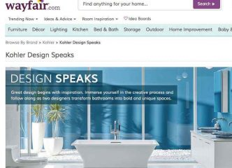 WAYFAIR.COM LAUNCHES INTERIOR DESIGN BLOGS WITH DKOR 13