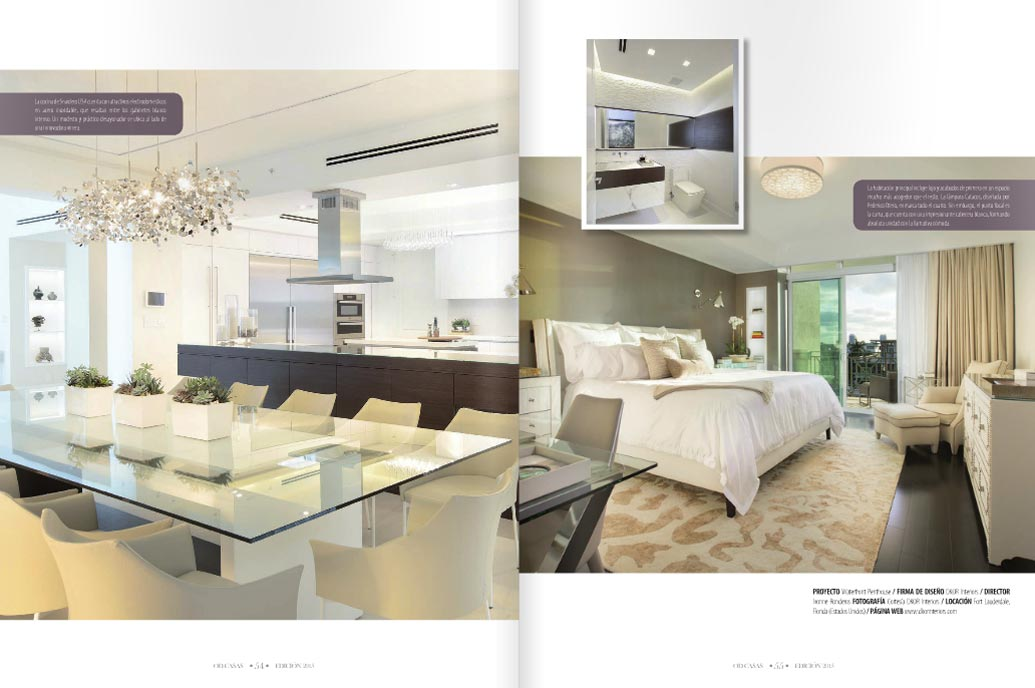 Dkor 39 s interiors takes cover page in south american American interior design